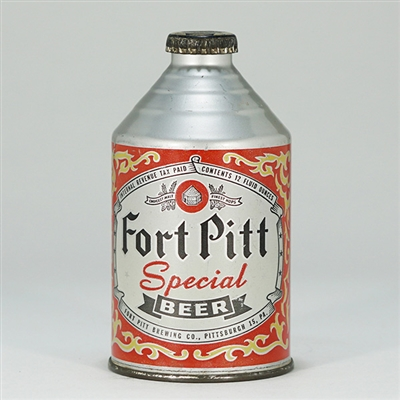 Fort Pitt Special Beer Crowntainer 194-10