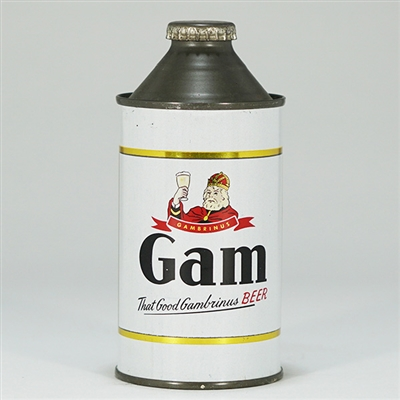 Gam Good Gambrinus Beer Cone 164-17