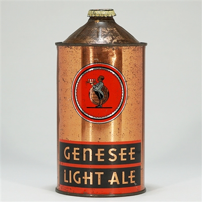 Genesee Light Ale Quart Cone Top 209-17