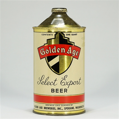 Golden Age Export Quart Cone 210-16