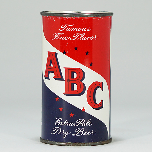 ABC Extra Pale Beer Flat Top Maier 28-3