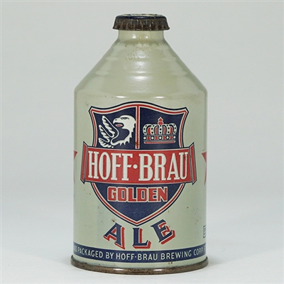 Hoff-Brau Ale DULL GRAY Crowntainer 195-16