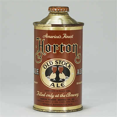 Horton Old Stock Ale Cone Top 169-12