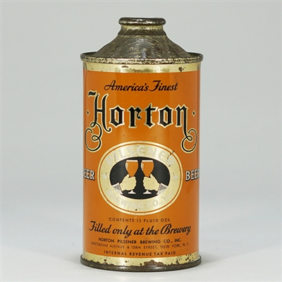 Horton Pilsener Brewing Cone Top 169-16