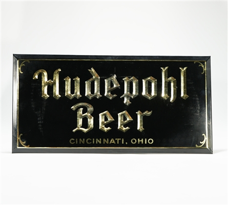 Hudepohl Beer Debossed TOC Sign