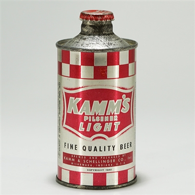 Kamms Light Beer J-Spout Cone 170-21