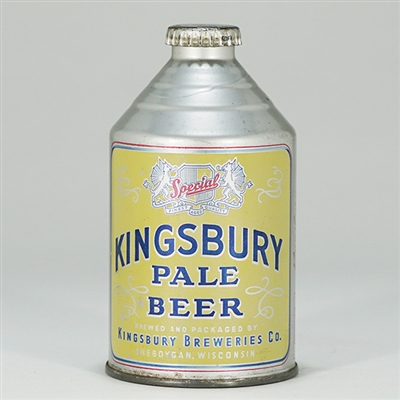 Kingsbury Pale Crowntainer NOT LISTED