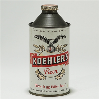 Koehlers Beer Cone Top Can 171-26