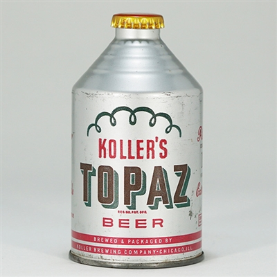 Kollers Topaz Beer Crowntainer 196-16