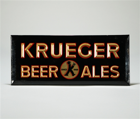 Krueger Beer Ales Celluloid TOC Sign