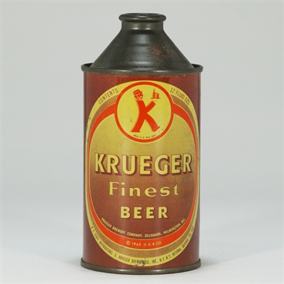 Krueger Finest Beer Cone Top Can 172-7