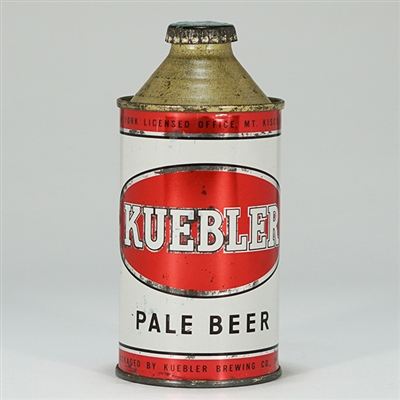 Kuebler Pale Beer Cone Top Can 172-20