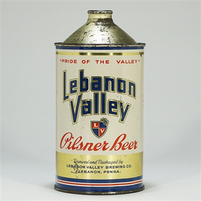 Lebanon Valley Quart ACTUAL 214-8