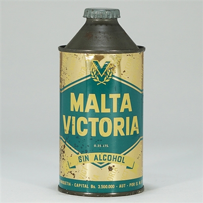 Malta Victoria Cone Top Beer Can