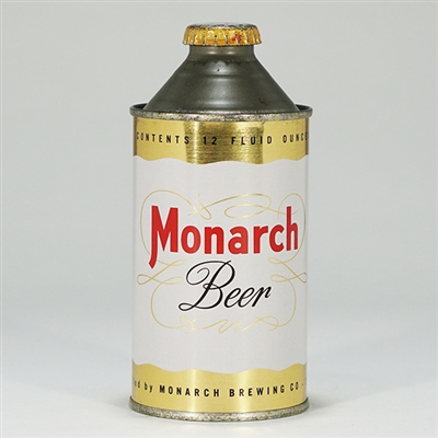 Monarch Beer Cone Top Can 174-8