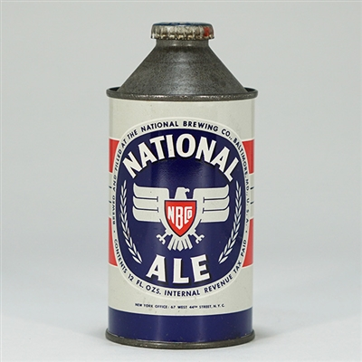 National Ale Cone Top Beer Can 174-28