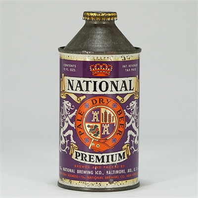 National Premium Cone Top Can 174-31