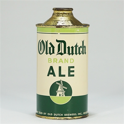 Old Dutch Brand Ale Cone Top 176-2