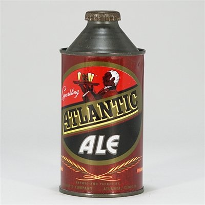 Atlantic Ale Cone Top Can NOT LISTED