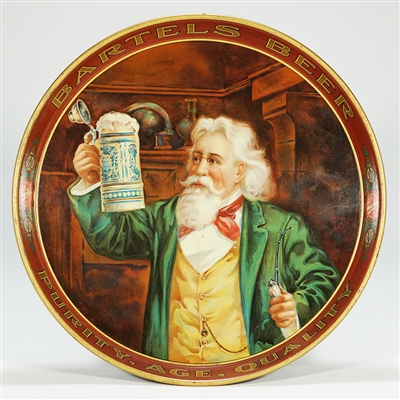 Bartels Beer Pre-prohibition Serving Tray
