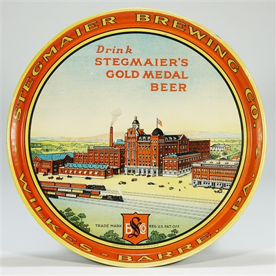 Stegmaier Brewing Factory Scene Tray
