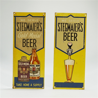 Stegmaiers Beer Tack-Up Doorpush Set