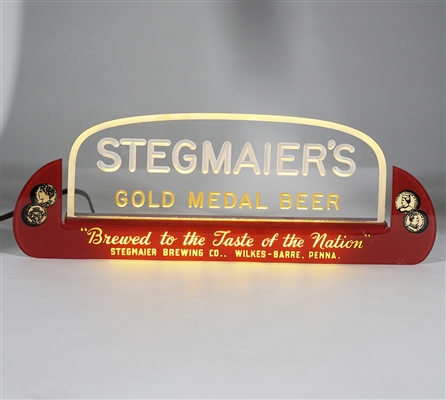 Stegmaiers Gold Medal Beer Illuminated