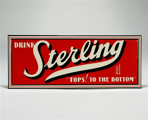 Sterling Tops to the Bottom TOC Sign