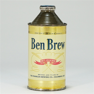 Ben Brew Cone Top Beer Can 151-18