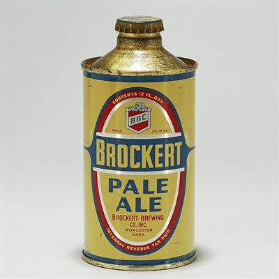 Brockert Pale Ale Cone Top Can 154-24