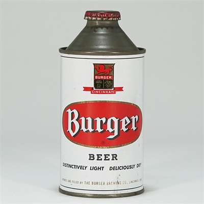 Burger Beer Cone Top Can 155-29