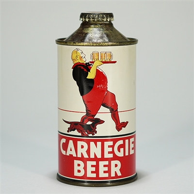 Carnegie Cone Top Beer Can 156-31