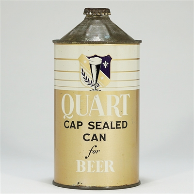 Continental Cap Sealed Salesman Quart