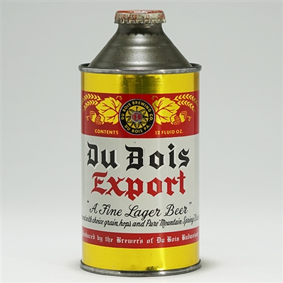 Du Bois Export Beer Cone Top 159-22