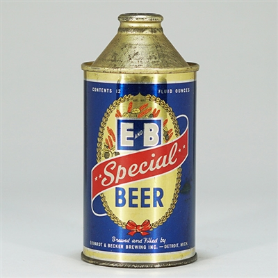 E and B Special Beer Cone Top 160-15