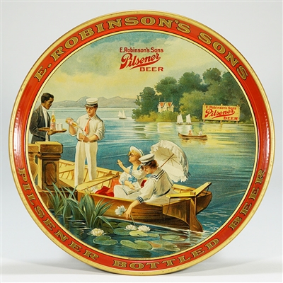 E. Robinsons Sons Pilsener Beer Tray