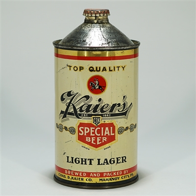 Kaiers Light Lager Beer Quart 212-17