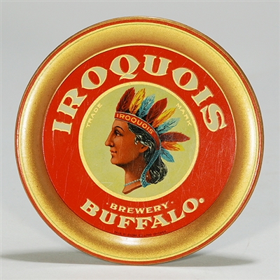 Iroquois Brewery Native American Tip Tray