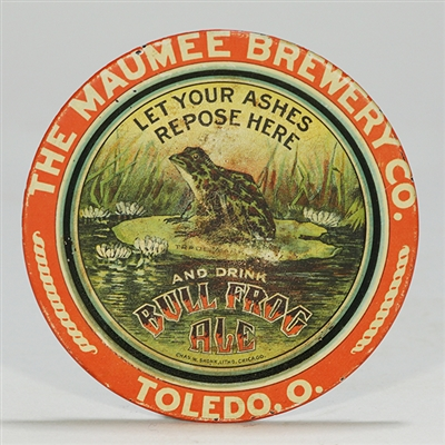 Maumee Brewery Bull Frog Ale Tip Tray