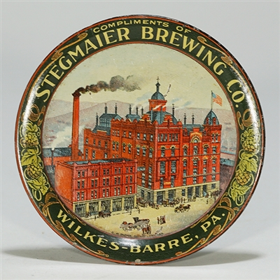 Stegmaier Brewing Factory Scene Tip Tray