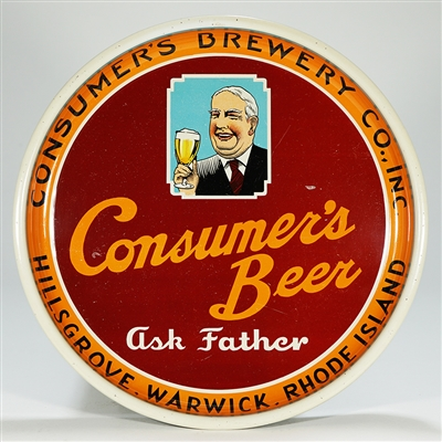 Consumers Beer Ask Father Tray