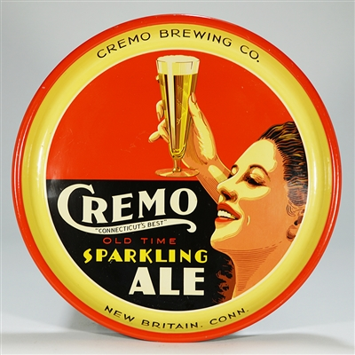 Cremo Old Time Sparkling Ale Tray