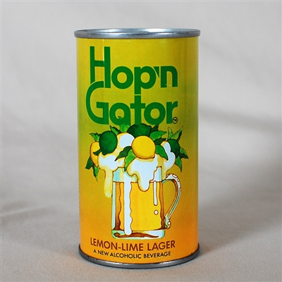 Hopn Gator Lemon Lime Lager Tab Top Can 77-13