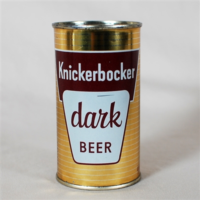 Knickerbocker Dark Beer Flat Top Can 126-37