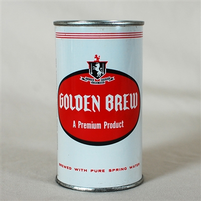 Golden Brew Flat Top Can 72-31
