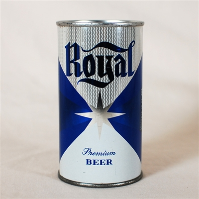 Royal Premium Beer Flat Top Can 125-22