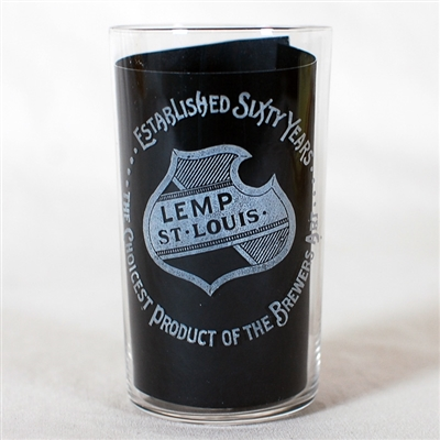 Lemp Etched Glass