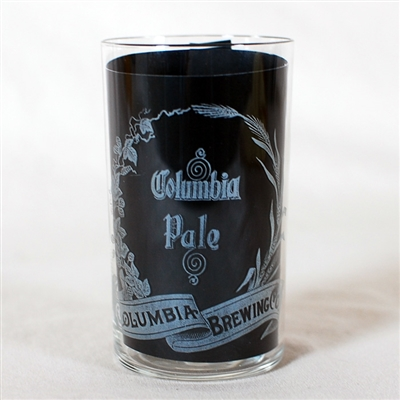 Columbia Brewing Pale Etched Glass
