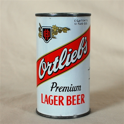 Ortliebs Lager Beer Flat Top Can 109-18