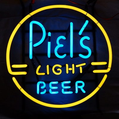 Piels Light Beer Neon Advertising Sign